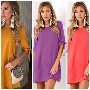 Dresses & Skirts - 2 for $25 Sexy long T shirt party mini dresses